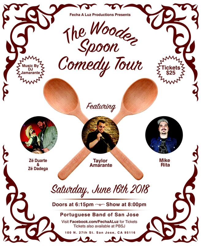 The Wooden Spoon Comedy Tour