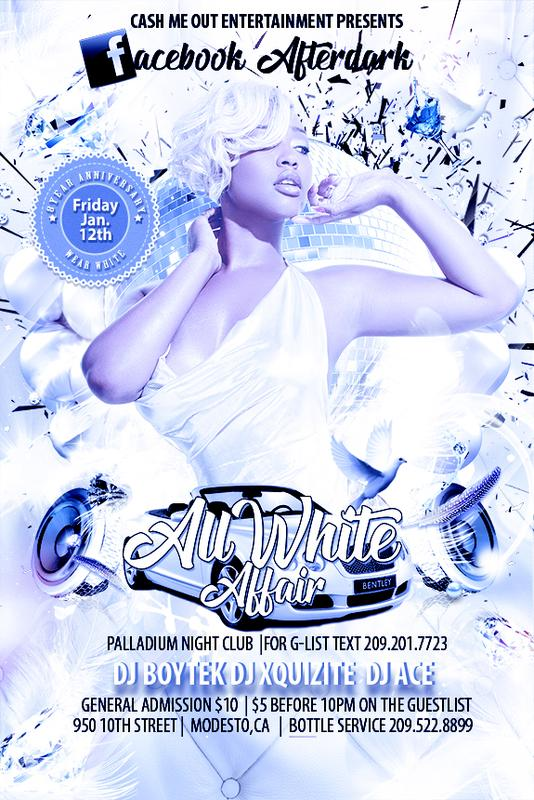 Facebook Afterdark All White Affair