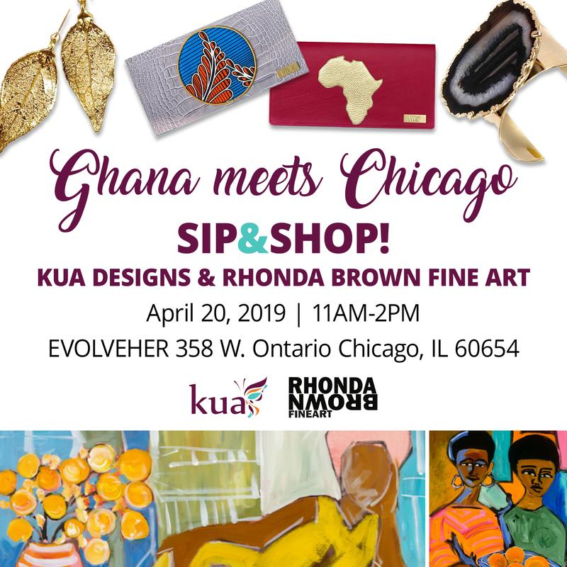 Sip & Shop with KUA designs & Rhonda Brown Fine Art