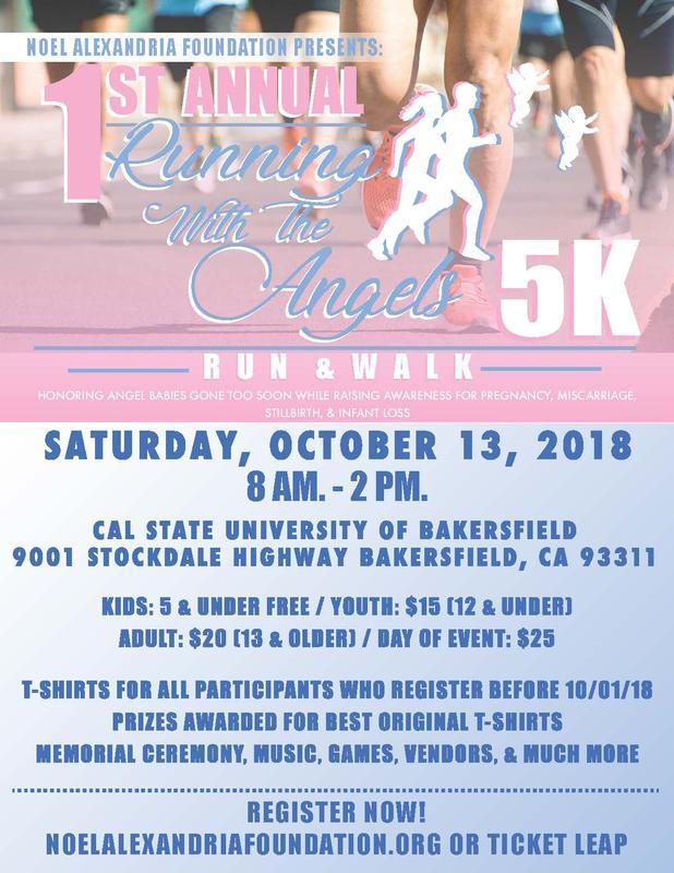 Noel Alexandria Foundation Presents: Running with the Angels 5K Run & Walk