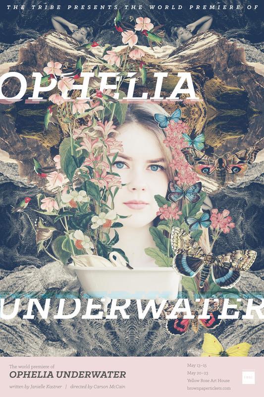 Ophelia Underwater by Janielle Kastner