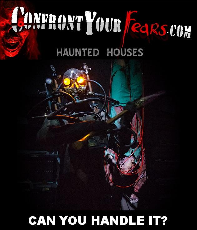 Confront Your Fears Haunted Houses 2014