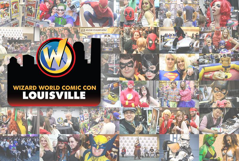 Wizard World Comic Con Louisville 2015 VIP Package