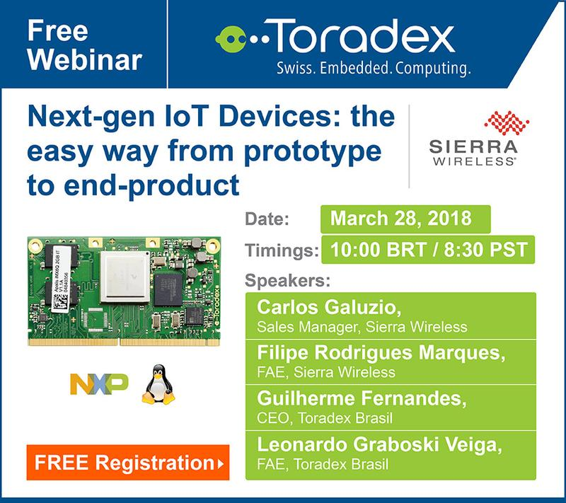 Webinar: Developing the Next Generation of IoT Embedded Systems with Low Risk and Great Scalability