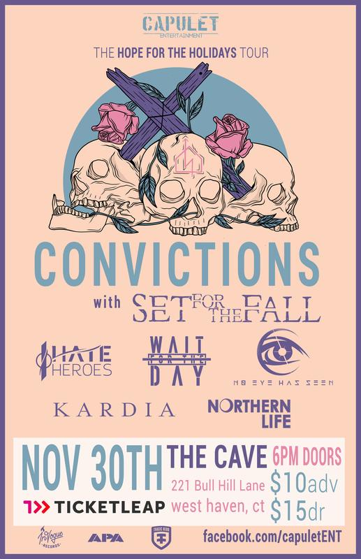 Convictions and Set For The Fall @ The Cave