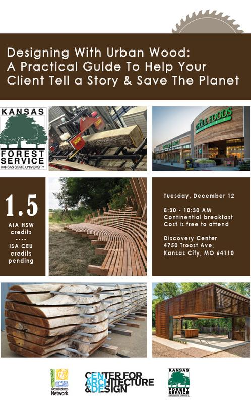 Designing With Urban Wood: A Practical Guide To Help Your Client Tell a Story & Save The Planet