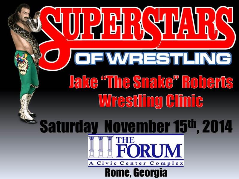 "Jake ""The Snake"" Roberts Wrestling Clinic"