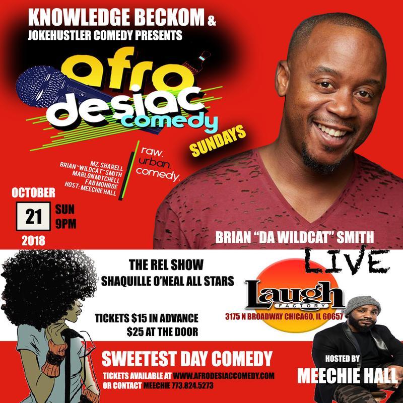 afro Desiac Comedy Sundays
