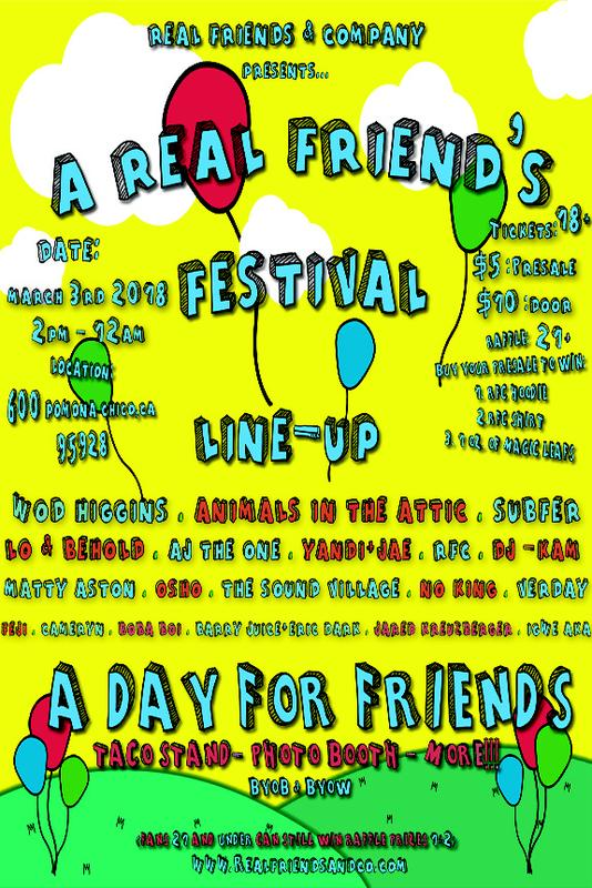 A Real Friend's Festival
