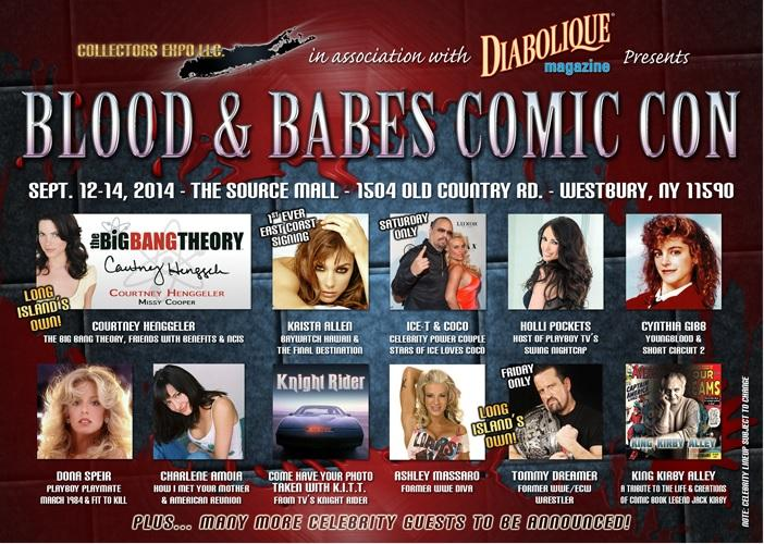 Blood and Babes Comic Con