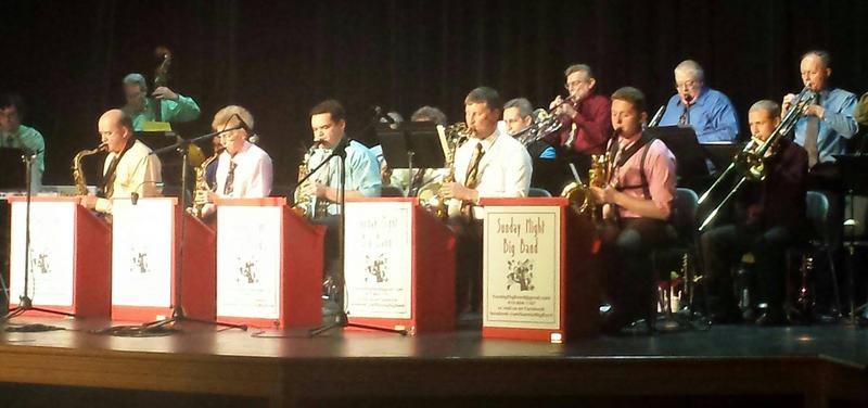 Sunday Night Big Band Benefit Concert for Caring Carroll