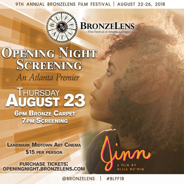 BLFF18:  Opening Night Screening - 'JINN'