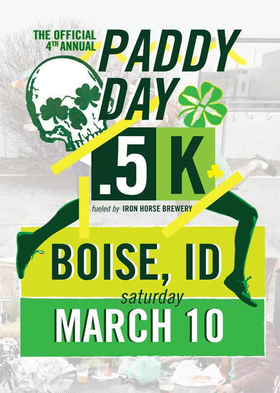 Iron Horse Brewery's St. Paddy Day Half K - Boise
