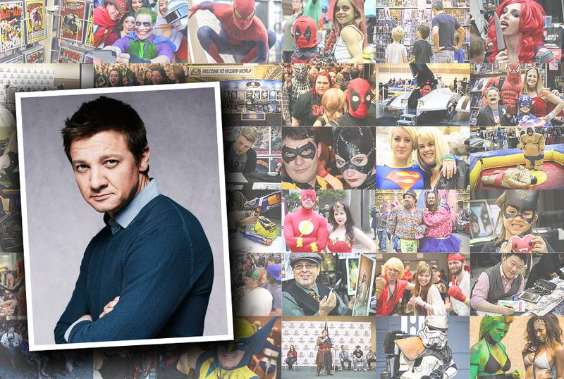 Jeremy Renner VIP Experience @ Wizard World Chicago 2015