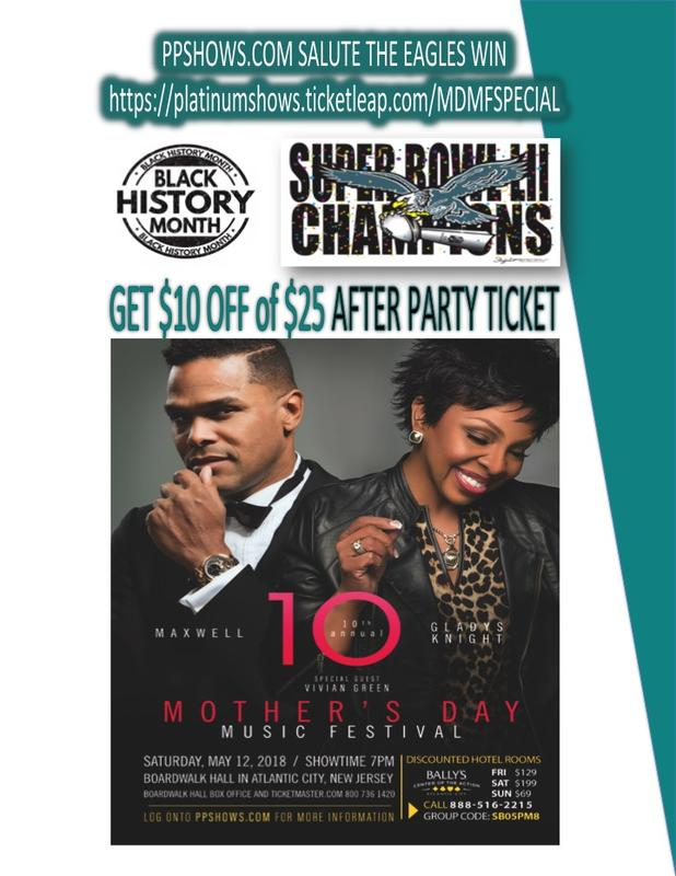 MOTHER'S DAY MUSIC FESTIVAL AFTER PARTY SPECIAL