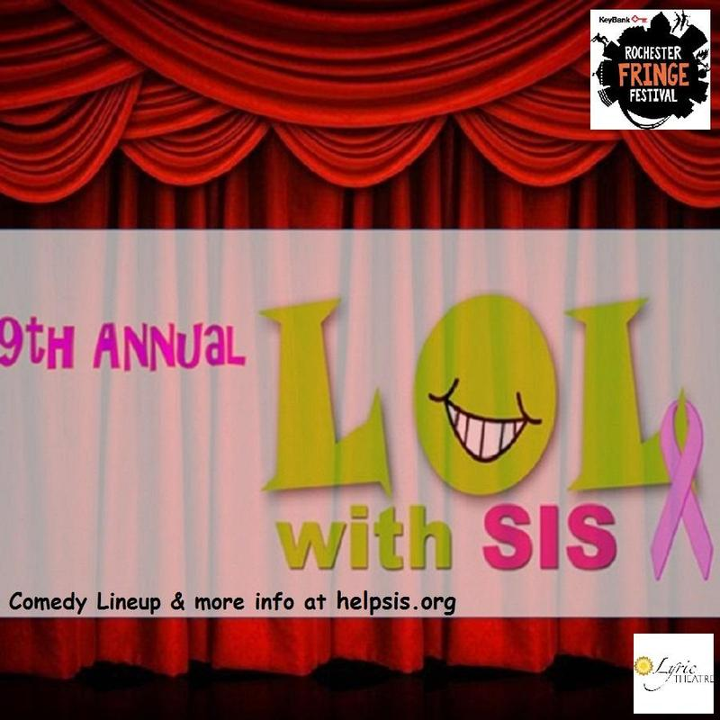 9th Annual Laugh Out Loud with SIS (Sustain, Inspire, Survive)