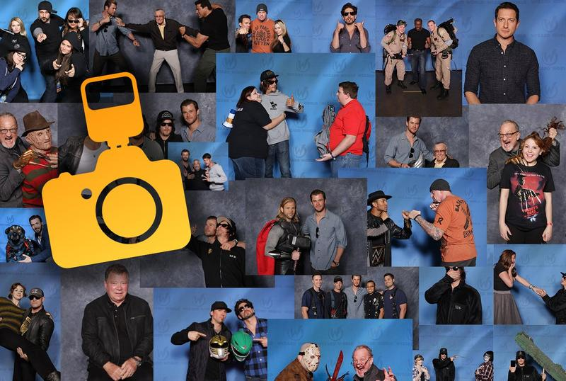 Photo Ops @ Wizard World NEW ORLEANS Comic Con & Gaming 2017 (Limit 2 People Per Photo) **CHECK PHOTO OPS SCHEDULE FOR TIMES**