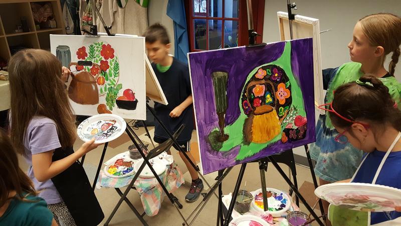 Art Class for children teens NY UWS 2020