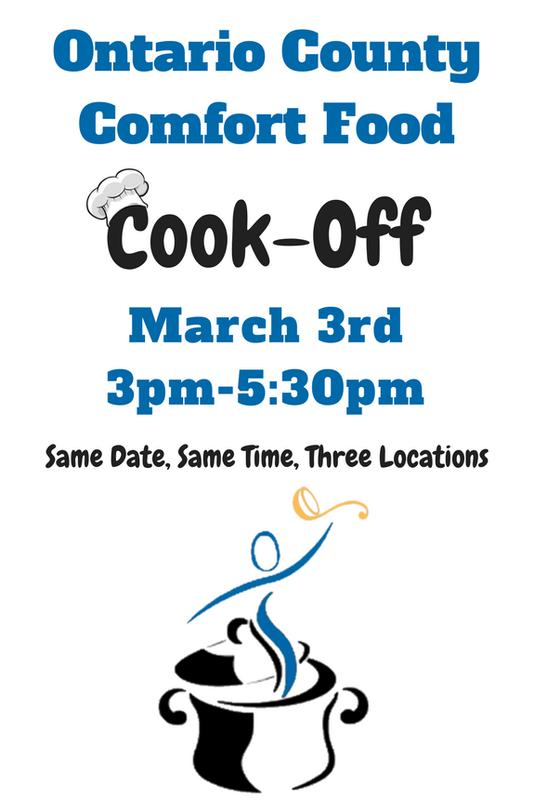 Ontario County Comfort Food Cook Off