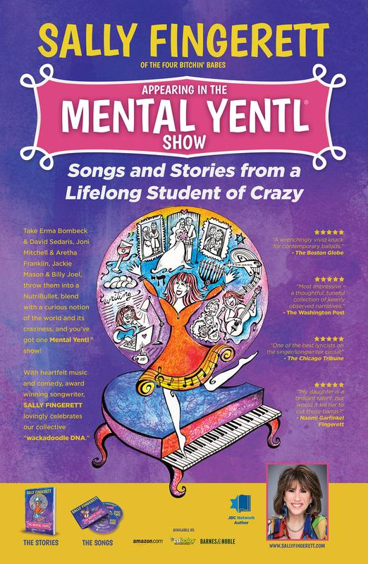 Sally Fingerett at the FJCC-The Mental Yent Showl: Songs & Stories from a Lifelong Student of Crazy