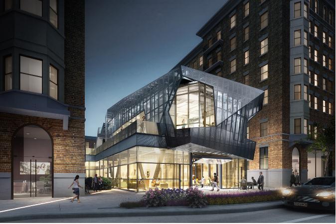 Construction Tour - Hamilton Court Amenity Building