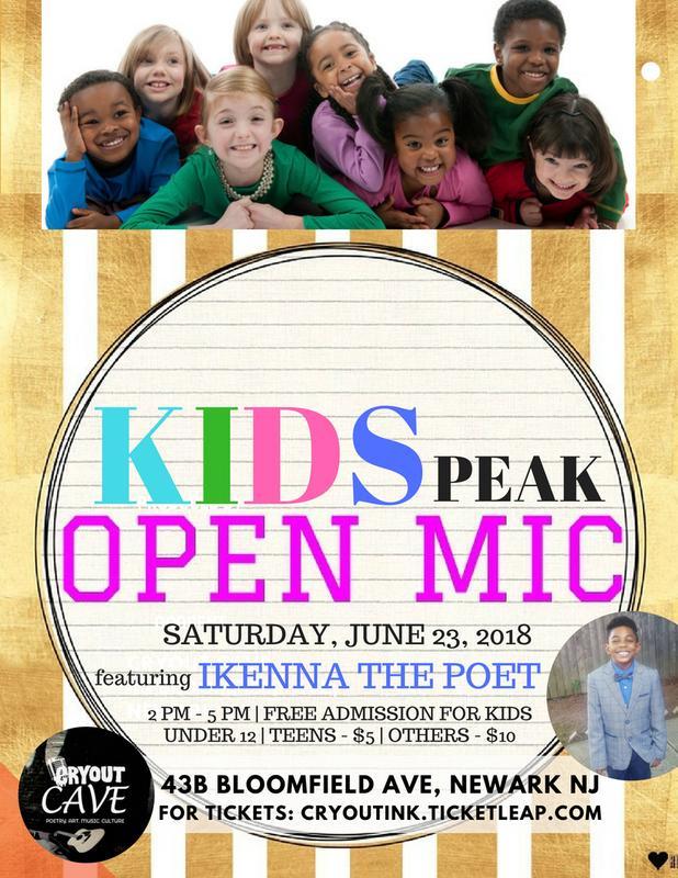 KIDSpeak Open Mic