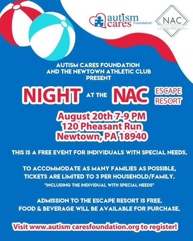 ACF Night at the NAC - August