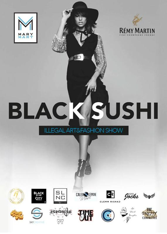 Black Sushi Illegal Art And Fashion Show