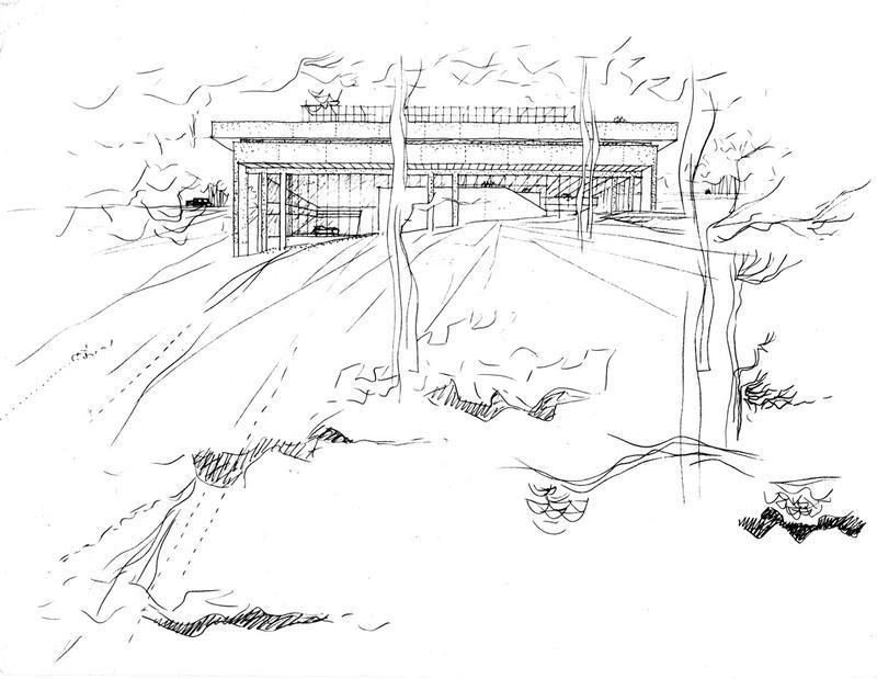 Modern Architecture & Music at Swarthmore DocomomoPHL Tour