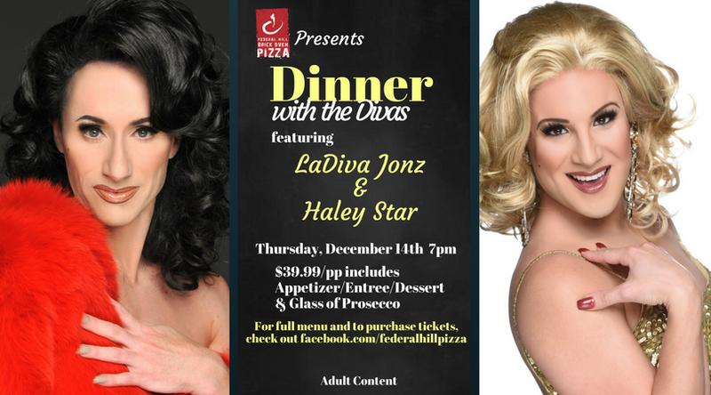 Federal Hill Pizza Presents: Dinner with the Divas
