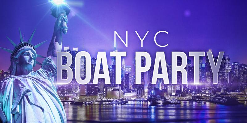Statue of Liberty Boat Party around Manhattan - Friday Night Yacht Cruise