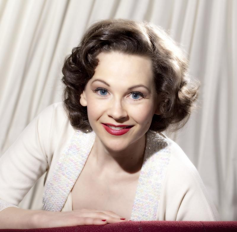 "Joan Ellison in ""Love Finds Judy Garland"""