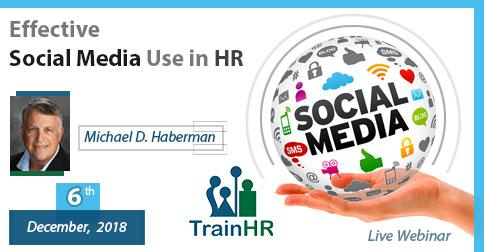 Effective Social Media Use in HR