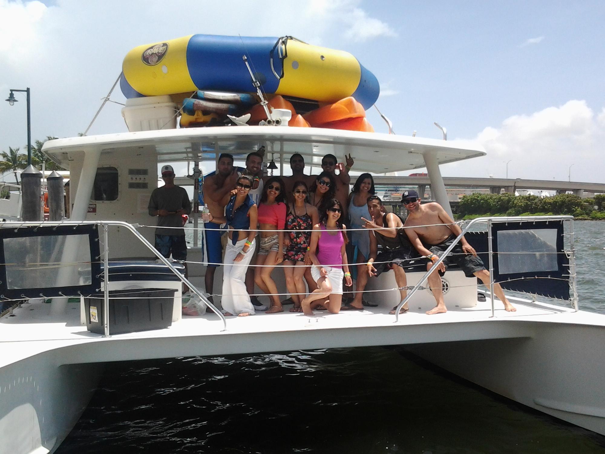 Hard Rock Cafe Boat Miami