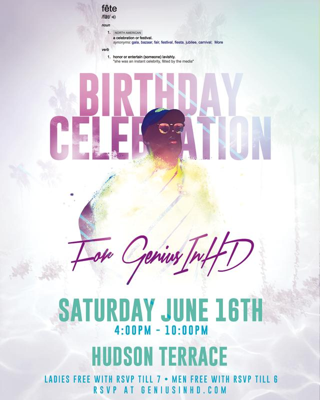 GeniusinHD Birthday Party
