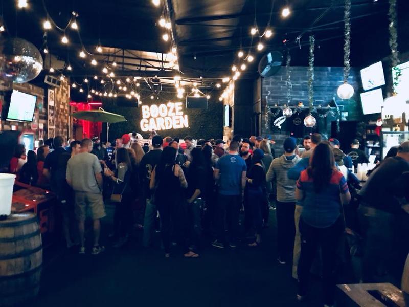 Pre-Tailgate Party at Booze Garden (November 30th)