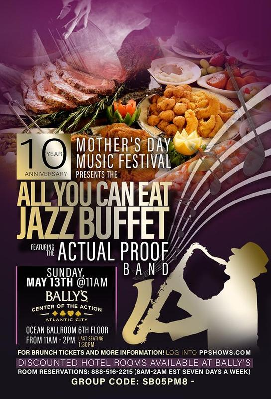 MDMF JAZZ BRUNCH AND ALL YOU CAN EAT BUFFET