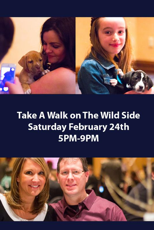 15th Annual Gala - Take a Walk On The Wild Side