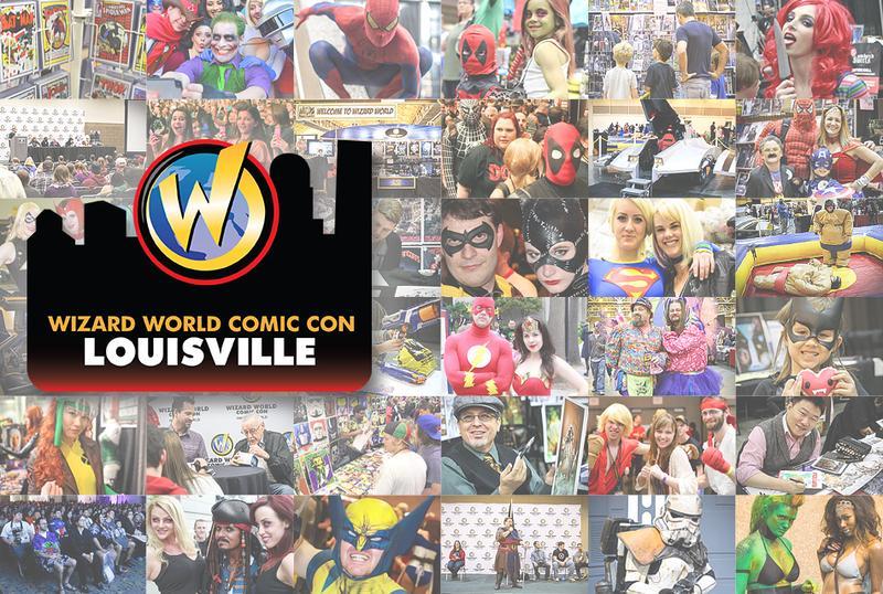 Wizard World Comic Con Louisville 2015 Admission