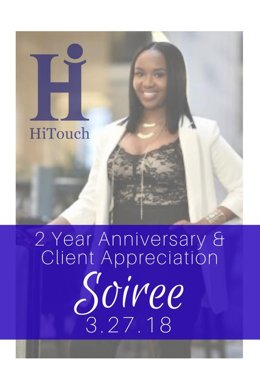 HiTouch Two Year Anniversary & Client Appreciation Soiree
