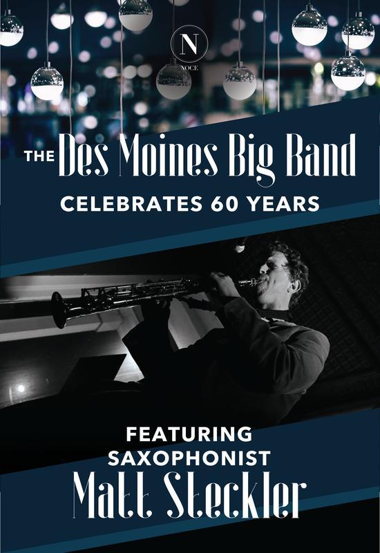 The Des Moines Big Band, featuring Saxophonist Matt Steckler
