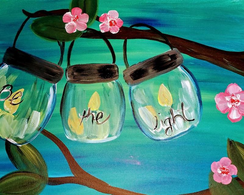 Paint Party at Catherine's 3-3-18