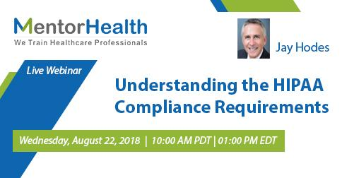 Understanding the HIPAA Compliance Requirements