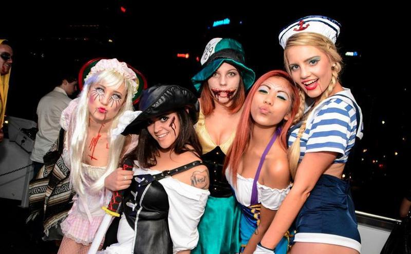 NYC Afterwork Halloween Night Boat Cruise at Skyport Marina