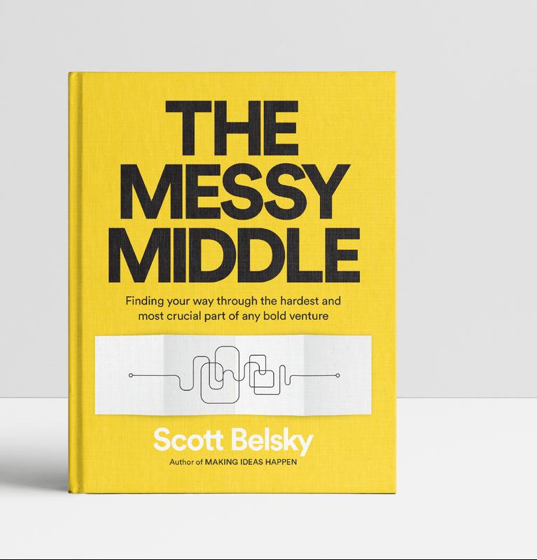 """Pilcrow House: Scott Belsky, author of """"The Messy Middle"""""""