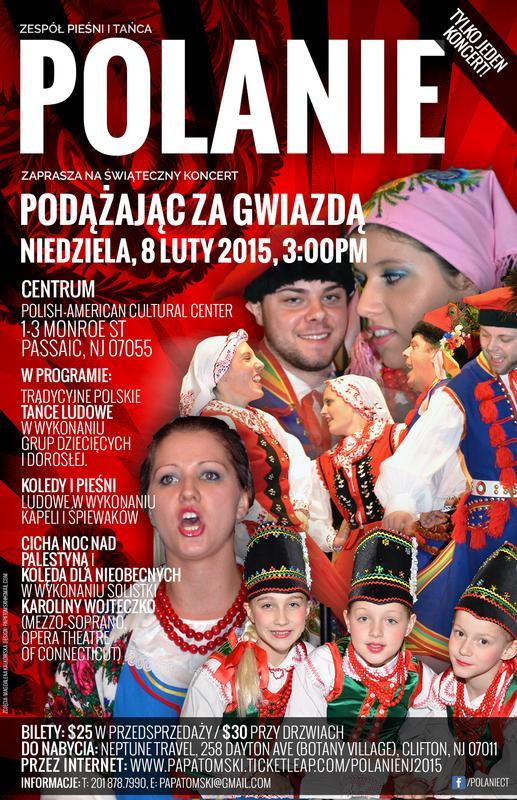 Świąteczny Koncert Zespołu Pieśni i Tańca Polanie