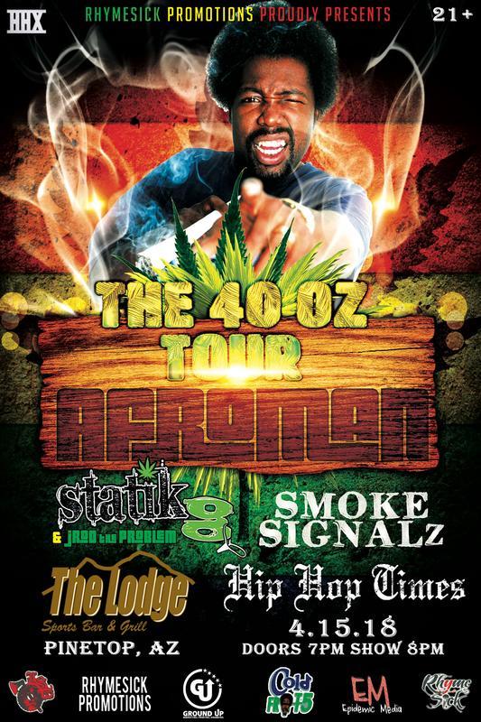 The 40 oz Tour- Pinetop, AZ