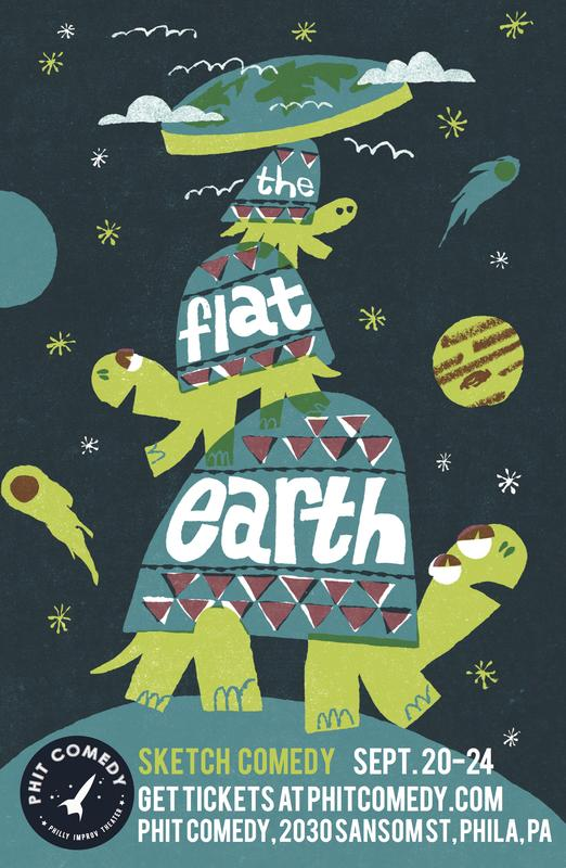 Philly Fringe Festival: The Flat Earth