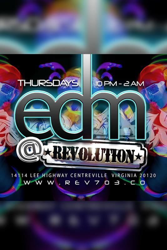 EDM at The Revolution