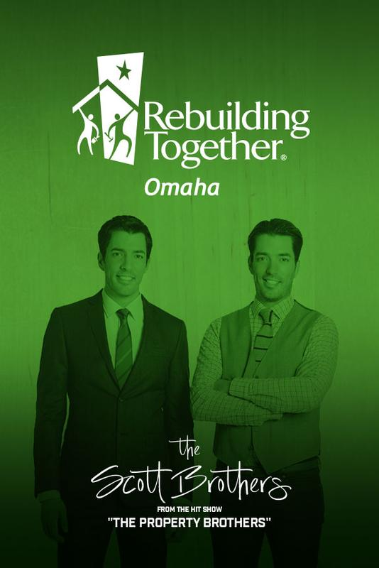 "The Scott Brothers hosts of ""The Property Brothers"" Luncheon benefitting Rebuilding Together Omaha"